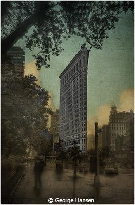 Hommage à Edward Steichen, Flatiron Building